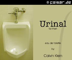 Urinal for men eau de toilette by Calvin Klein
